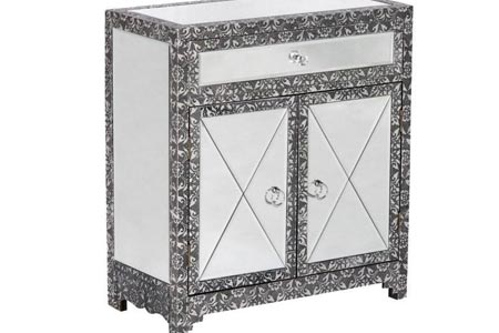 Chaandhi Kar Mirrored Sideboard