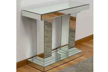 Classic Mirrored Hall Table