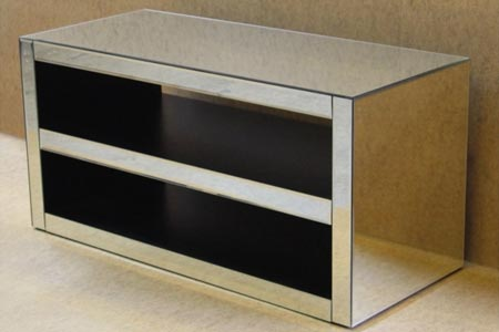 Modern Mirrored TV Stand