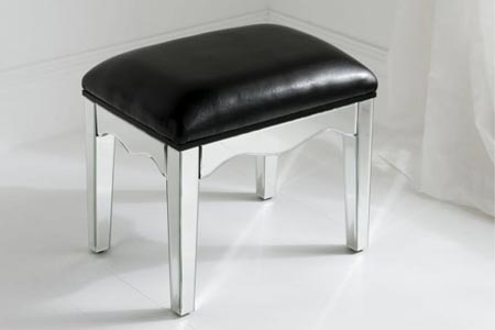 Romano Mirrored Stool