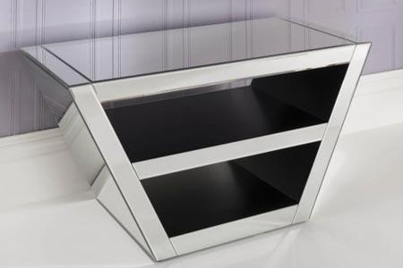 Romano Mirrored TV Cabinet