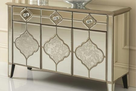 Sassari Mirrored Sideboard