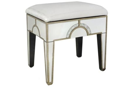 Sondrio Mirrored Stool