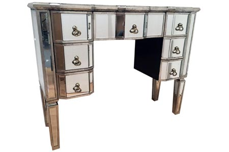 Vintage Mirrored Dressing Table
