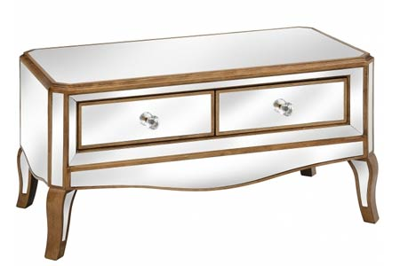 Modena Mirrored Coffee Table
