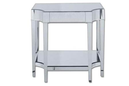 Stylish Mirrored Side Table