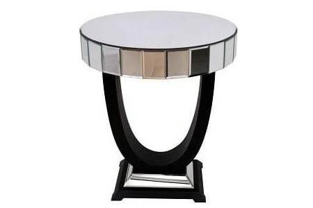 Venetian Mirrored Side Table